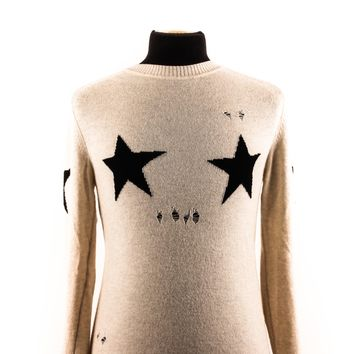 Marc Jacobs Distressed Star Sweater