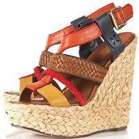 WIGWAM Woven Espadrille Wedges - Heels  - Shoes