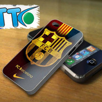 logo fc barcelona  _ case the collection
