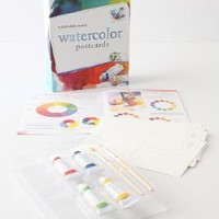 Watercolor Postcards: A Portable Studio - Anthropologie.com