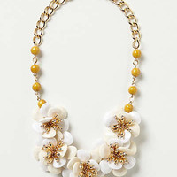 Anthropologie - Camellia Bib Necklace