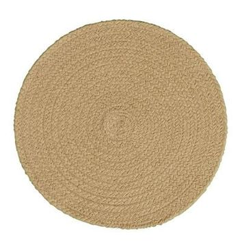 Tan Braided Placemat