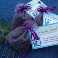 Lavender Cucumber Sage Aroma Bead Sachet, Air Freshener, Party Favor