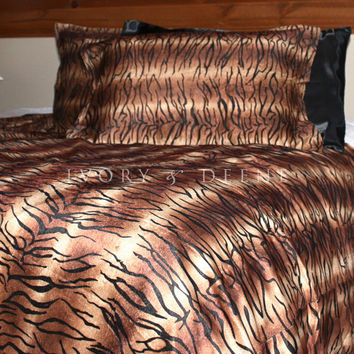 Luxury Tiger Fur Doona Cover