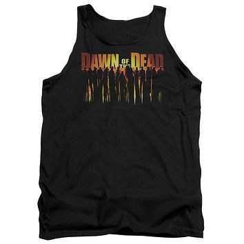 Dawn Of The Dead - Walking Dead Adult Tank Top Officially Licensed Apparel