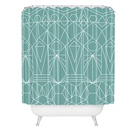 Mareike Boehmer My Favorite Pattern 10X Shower Curtain