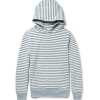Remi Relief - Striped Loopback Cotton-Jersey Hoodie | MR PORTER