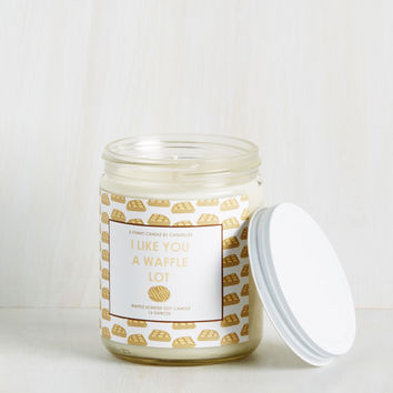 Scents of Humor Candle in Waffle