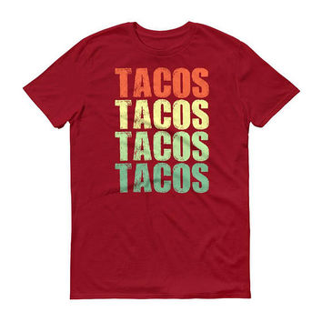 Tacos Tacos Tacos Tacos t-shirt for men, taco Tuesday, Taco Party, Funny tacos shirt for him, love tacos