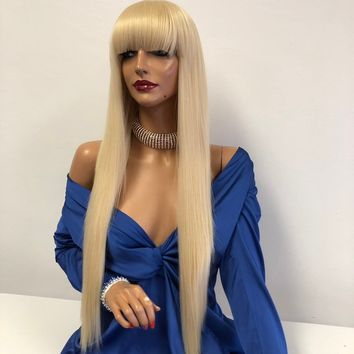 """Blond Lace Wig 30"""" 1118 84"""