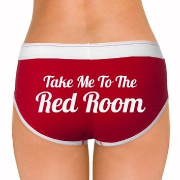 take me to the red room 50 shades of grey underwear panties