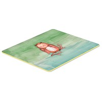 Brown Owl Watercolor Kitchen or Bath Mat 20x30 BB7443CMT