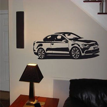 VOLKSWAGEN JETTA TDI Diesel Wall Art Sticker Decal 017