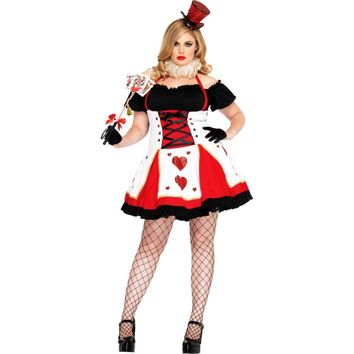 Adult Pretty Playing Card Costume Plus from Party City
