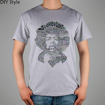 ROCK LEGEND JIMI HENDRIX MUSICIAN T-shirt cotton Lycra top 10967 Fashion Brand t shirt men new