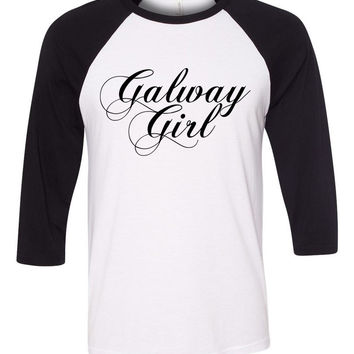 "Ed Sheeran ""Galway Girl"" Baseball Tee"