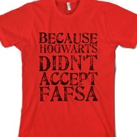 Red T-Shirt   Funny Harry Potter Shirts