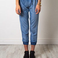 Brooklyn Karma Knox Denim Joggers