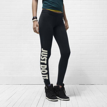Nike Women Fashion Stretch Leggings Sweatpants Exercise Fitness Sport Pants Trousers
