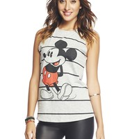 Mickey Mouse™ Striped Tank | Wet Seal