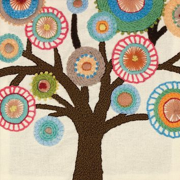 "Handmade Collection Tree-Stitched /Wool Dimensions Crewel Embroidery Kit 10""X10"""