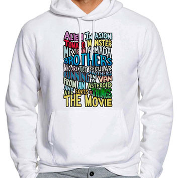 Rick And Morty Two Brothers Handlettered Quote 834 Man Hoodie and Woman Hoodie