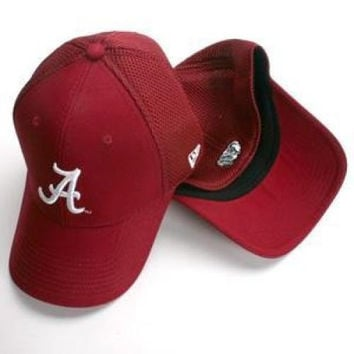 Alabama Crimson Tide Hat - Aflex By New Era - M/L
