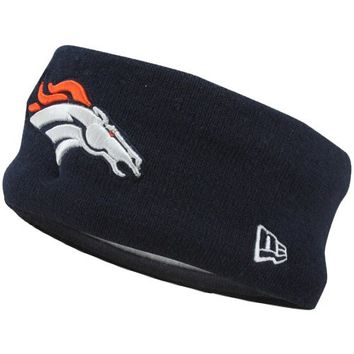 New Era Denver Broncos Big Headband - Navy Blue