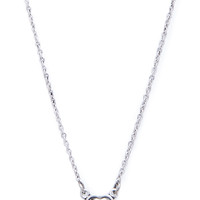 Faux Stone Heart Necklace