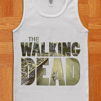 the walking dead  Tank Top , Tank Shirt , Cute Tank , Fashion Tank , T Shirt , Women Shirt , Cothing , Women and men Tank Top
