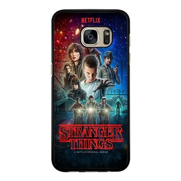 Stranger Things Poster Netflix Samsung Galaxy S7 Case