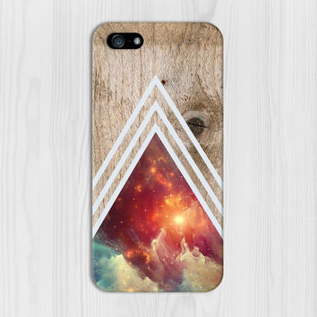 White Chevron x Universe x Dense Wood Phone Case for iPhone 6 6 Plus iPhone 5 5s 5c iPhone 4 4s Samsung Galaxy s6 s5 s4 & s3 and Note 4 3 2