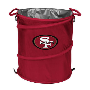 San Francisco 49ers NFL Collapsible Trash Can Cooler