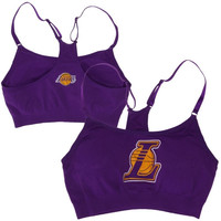 4c2828a1e018d FOREVER 21 Los Angeles Lakers Sports Bra from Forever 21