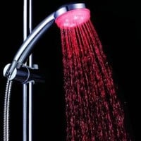 Showerhead with Built-in LEDs for 7 Color Modes with Automatic Changing, Cyber Monday
