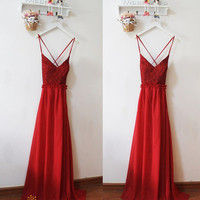 Sexy Backless Evening Dress,Open Back Prom Dress,Sexy Bridesmaid Dress,Burgundy Sexy Prom Evening Dress,Lace Bridesmaid Dress,Evening Dress
