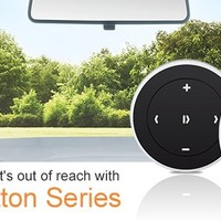 Satechi® Bluetooth Button Series (Media Button) for iPhone 6 Plus/6/5S/5C, iPad Air 2/Air/Mini/3/2/1, Samsung Galaxy S6 Edge/S6/S5/S4/Note 4/Edge/Pro/Tab Pro, Google Nexus 9/7/6/5, and more