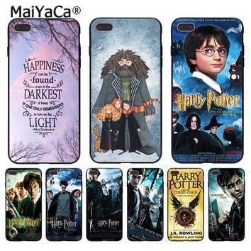 MaiYaCa Harry Potter New High Quality Multi Colors Luxury phone case for Apple iPhone 8 7 6 6S Plus X 5 5S SE 5C Cover