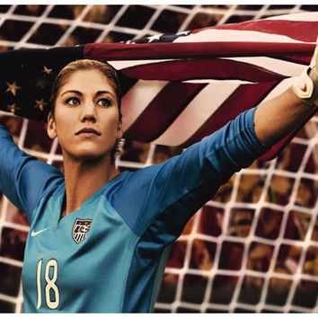 Hope Solo US Women's Soccer Goalie Poster 11x17