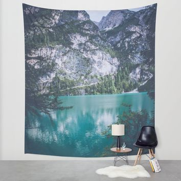 Peer Through Wall Tapestry by Gallery One