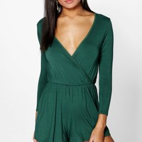Aveline Wrap Over Playsuit