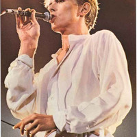 David Bowie Live 1981 Poster 25x35