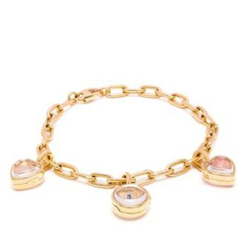 LOQUET | 18k Gold Charm Bracelet | brownsfashion.com | The Finest Edit of Luxury Fashion | Clothes, Shoes, Bags and Accessories for Men & Women