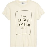 Wildfox 'Please Do Not Disturb' Oversize Tee (Big Girls) | Nordstrom