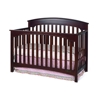 Child Craft Stanford 4-in-1 Cherry Rounded Top Convertible Crib | Overstock.com Shopping - The Best Deals on Cribs