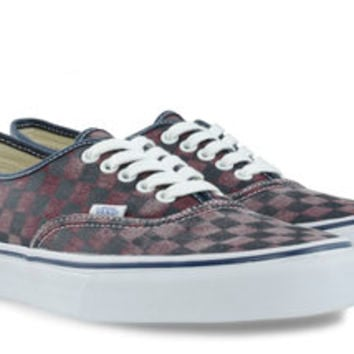 vans AUTHENTIC VAN DOREN (checkerboard) VN-0TSV8X9 | gravitypope