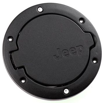 black stainless steel abs gas fuel cap from amazon jeep. Black Bedroom Furniture Sets. Home Design Ideas