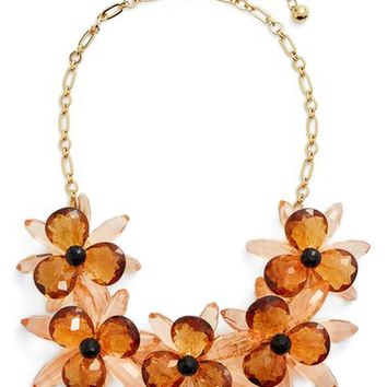 kate spade new york 'blooming brilliant' statement necklace | Nordstrom