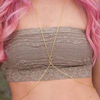 Simple body chain. Simple gold body chain. Simple silver body chain.