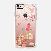 happiness transparent iPhone 7 Carcasa by Marianna | Casetify